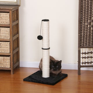 PetPals Black Stilt Cat Post
