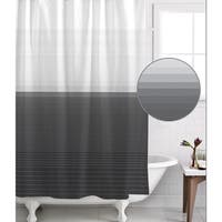 Famous Home Zack Pewter Shower Curtain