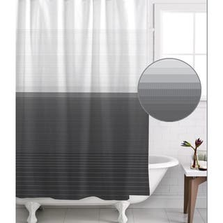 black white and red shower curtain. Famous Home Zack Pewter Shower Curtain Black Curtains For Less  Overstock com Vibrant Fabric