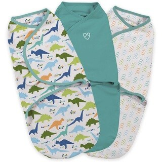 Summer Infant Origami Dino Small SwaddleMe Original (Pack of 3)