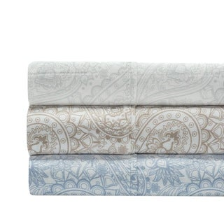 300 Thread Count 100% Cotton Paisley Sheet Set