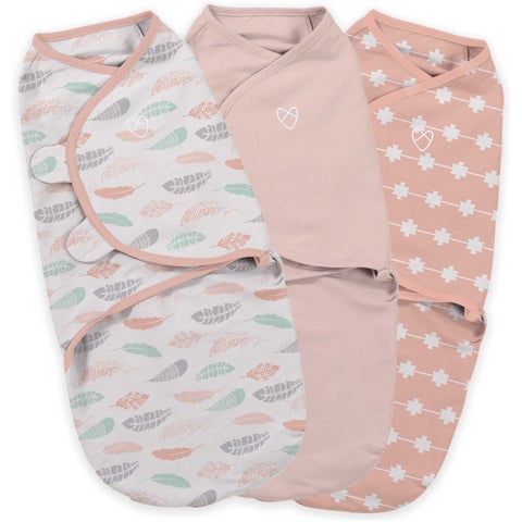 Summer Infant Coral Days Small SwaddleMe Original (Pack of 3)