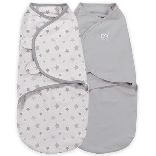 Summer Infant Starry Skies Small SwaddleMe Original Organic (Pack of 2)