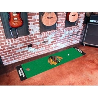 "NHL - Chicago Blackhawks Putting Green Mat 18""x72"""