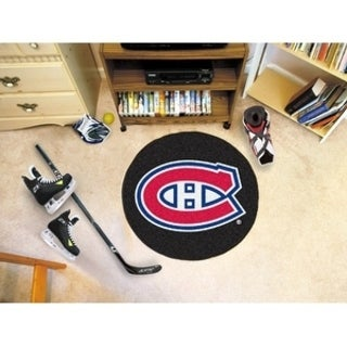 "NHL - Montreal Canadiens Puck Mat 27"" diameter"