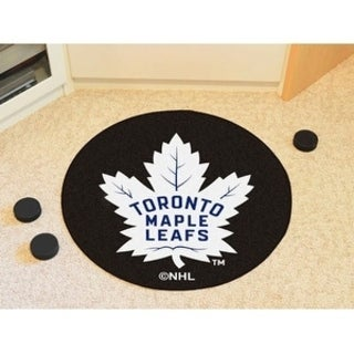 "NHL - Toronto Maple Leafs Puck Mat 27"" diameter"