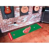 """NHL - Detroit Red Wings Putting Green Mat 18""""x72"""""""