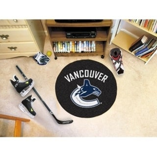 "NHL - Vancouver Canucks Puck Mat 27"" diameter"