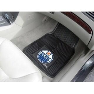 "NHL - Edmonton Oilers  2-pc Vinyl Car Mats 17""x27"""