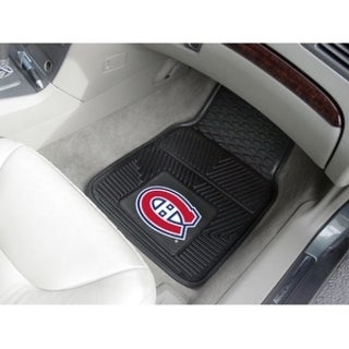 "NHL - Montreal Canadiens  2-pc Vinyl Car Mats 17""x27"""