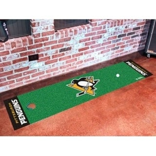 "NHL - Pittsburgh Penguins Putting Green Mat 18""x72"""