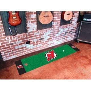 "NHL - New Jersey Devils Putting Green Mat 18""x72"""