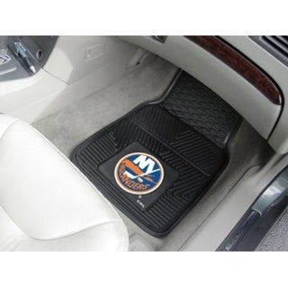 "NHL - New York Islanders  2-pc Vinyl Car Mats 17""x27"""