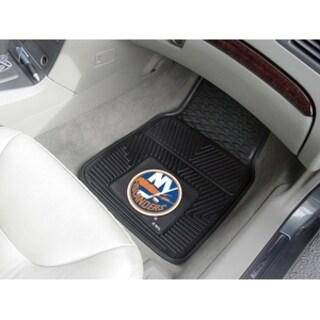 "NHL - New York Islanders 2-pc Vinyl Car Mats 17""x27"""