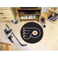 "NHL - Philadelphia Flyers Puck Mat 27"" diameter"