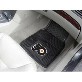 """NHL - Philadelphia Flyers 2-pc Vinyl Car Mats 17""""x27"""""""
