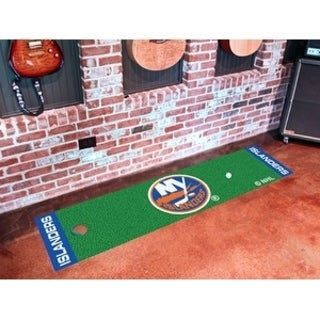 "NHL - New York Islanders Putting Green Mat 18""x72"""
