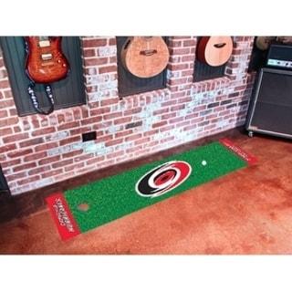 "NHL - Carolina Hurricanes Putting Green Mat 18""x72"""