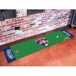 "NHL - Florida Panthers Putting Green Mat 18""x72"""