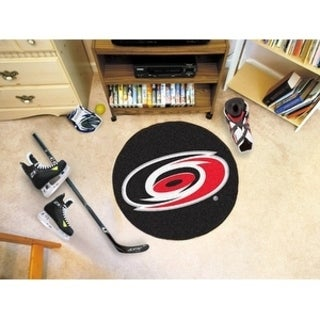 "NHL - Carolina Hurricanes Puck Mat 27"" diameter"