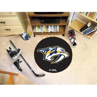 "NHL - Nashville Predators Puck Mat 27"" diameter"