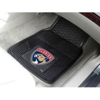 """NHL - Florida Panthers  2-pc Vinyl Car Mats 17""""x27"""""""
