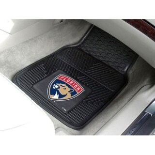 "NHL - Florida Panthers 2-pc Vinyl Car Mats 17""x27"""