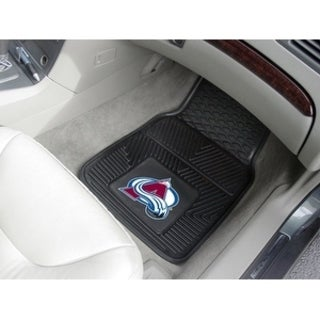 "NHL - Colorado Avalanche  2-pc Vinyl Car Mats 17""x27"""