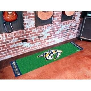 "NHL - Nashville Predators Putting Green Mat 18""x72"""