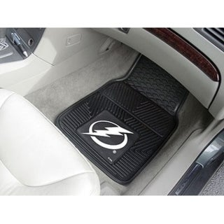 "NHL - Tampa Bay Lightning  2-pc Vinyl Car Mats 17""x27"""