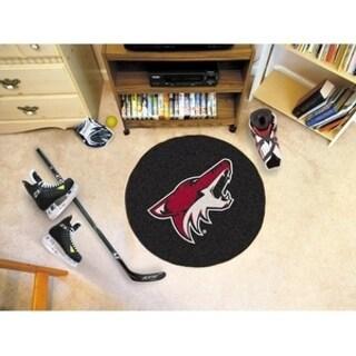 """NHL - Arizona Coyotes Puck Mat 27"""" diameter"""