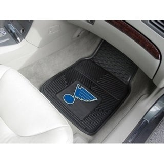 "NHL - St. Louis Blues  2-pc Vinyl Car Mats 17""x27"""