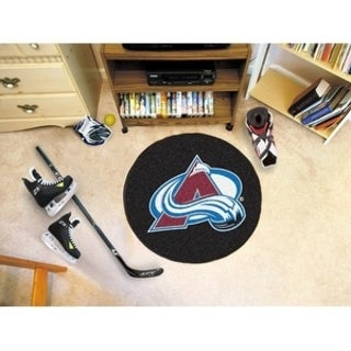 "NHL - Colorado Avalanche Puck Mat 27"" diameter"