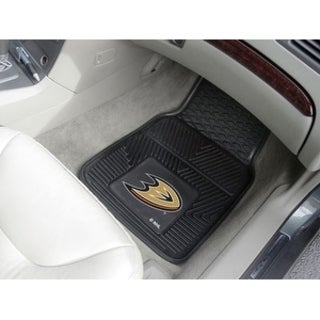 "NHL - Anaheim Ducks  2-pc Vinyl Car Mats 17""x27"""