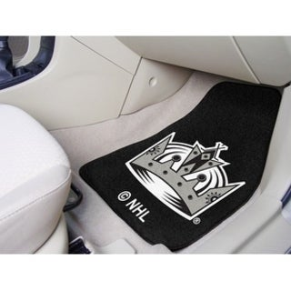"NHL - Los Angeles Kings 2-pc Printed Carpet Car Mats 17""x27"""