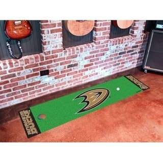 "NHL - Anaheim Ducks Putting Green Mat 18""x72"""