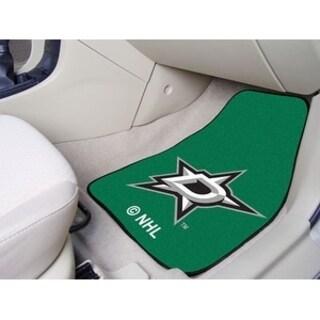 "NHL - Dallas Stars 2-pc Printed Carpet Car Mats 17""x27"""