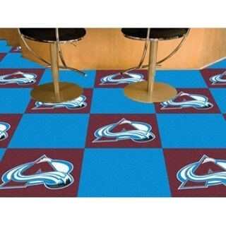 "NHL - Colorado Avalanche 18""x18"" Carpet Tiles"