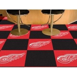 "NHL - Detroit Red Wings 18""x18"" Carpet Tiles"