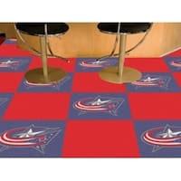 "NHL - Columbus Blue Jackets 18""x18"" Carpet Tiles"