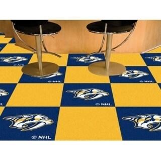 "NHL - Nashville Predators 18""x18"" Carpet Tiles"