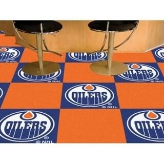 "NHL - Edmonton Oilers 18""x18"" Carpet Tiles"