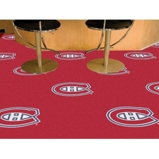 "NHL - Montreal Canadiens 18""x18"" Carpet Tiles"