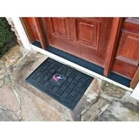 "NHL - Columbus Blue Jackets Door Mat 19.5""x31.25"""