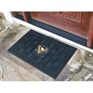 "NHL - Pittsburgh Penguins Door Mat 19.5""x31.25"""