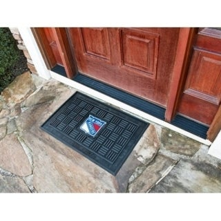 "NHL - New York Rangers Door Mat 19.5""x31.25"""