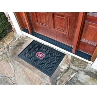 "NHL - Montreal Canadiens Door Mat 19.5""x31.25"""