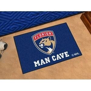 "NHL - Florida Panthers Man Cave Starter Rug 19""x30"""