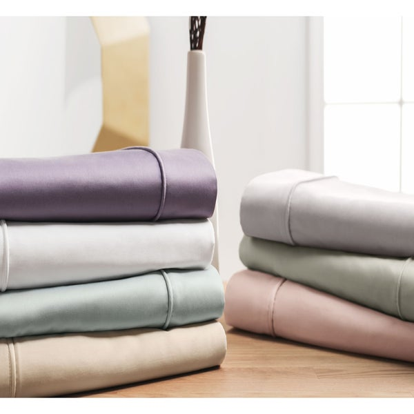 Sleep Like A King 400 Thread Count 100-percent Cotton Sheet Set Designed by Larry and Shawn King