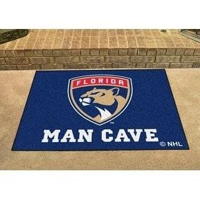 "NHL - Florida Panthers Man Cave All-Star Mat 33.75""x42.5"""